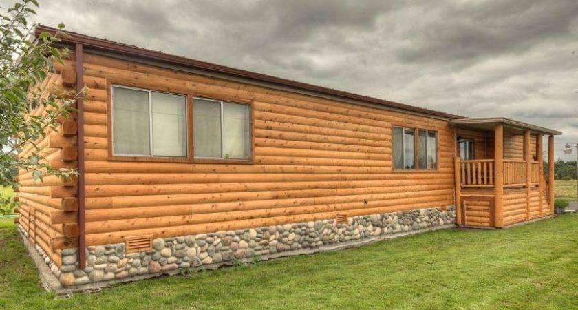 Log Siding Mobile Homes Cavareno Home Improvment