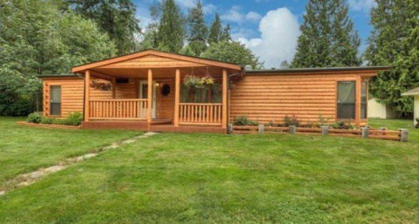 Log Siding Mobile Homes Photos Bestofhouse
