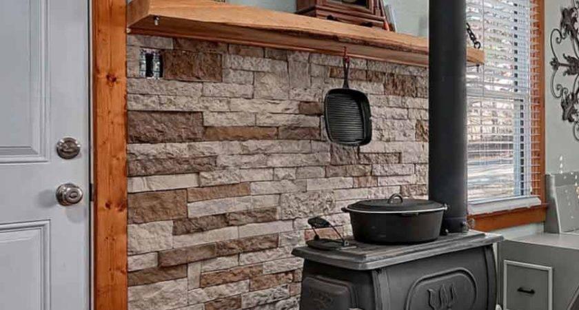 Logwood Cast Iron Wood Stove Install Appalachian
