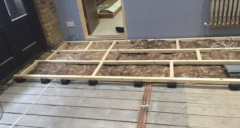 London Warehouse Apartment Installs Concreate Flooring Panels