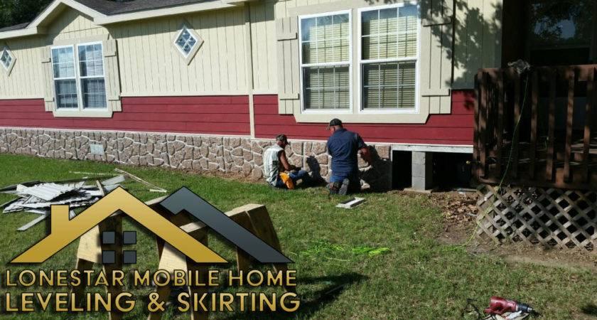 Lonestar Mobile Home Leveling Skirting