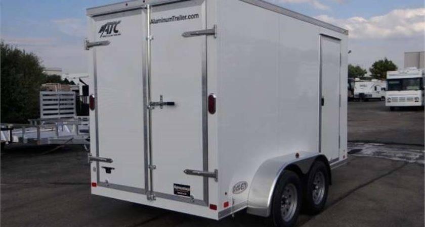Long Custom Enclosed Cargo Trailer Advantage