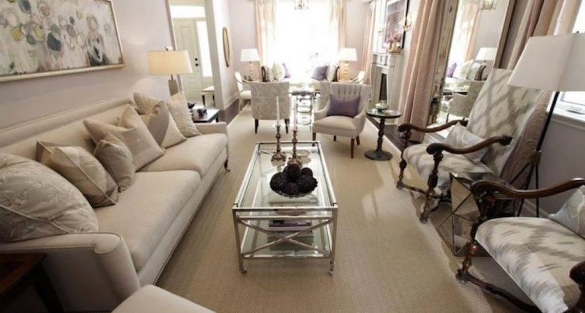 Long Narrow Living Room Design Arrange Furniture