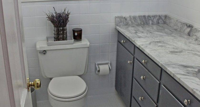 Long Short Budget Bathroom Makeover