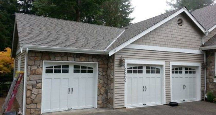 Lookout Point Covered Porch Third Car Garage Addition