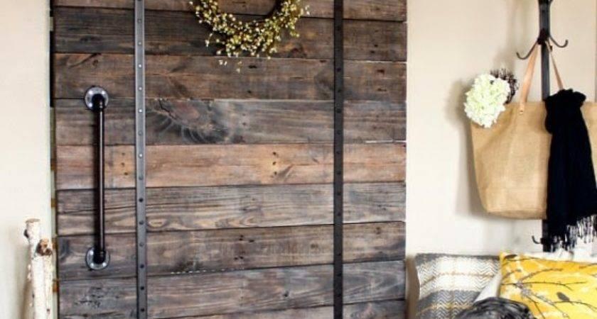 Love Junk Make Your Own Pallet Wood Barn Door