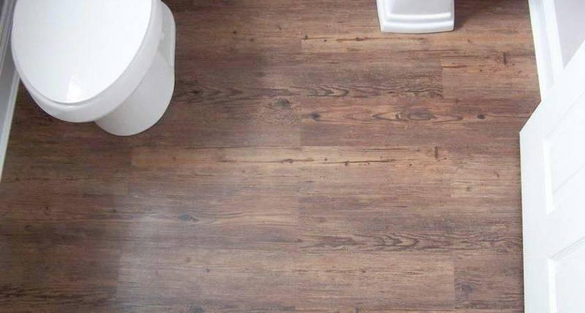 Lovely Install Vinyl Plank Flooring Bathroom
