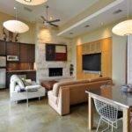 Lovely Kitchen Living Room Together Remodel Home