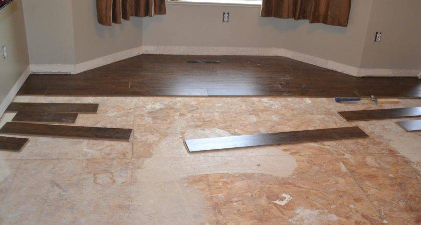 Lovely Laying Tile Over Vinyl Floor Kezcreative