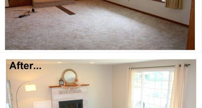 Lovely Painting Wood Paneling Before After Photos