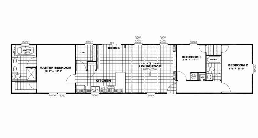 Lovely Single Wide Floor Plans House Plan