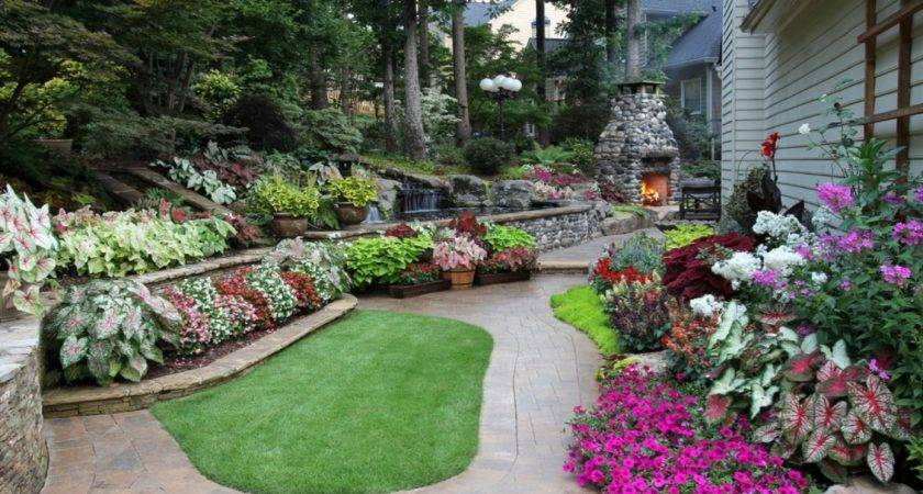 Low Bed Ideas Back Yard Affordable Landscaping
