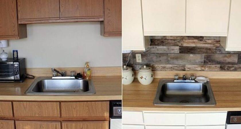 Low Cost Diy Kitchen Backsplash Ideas Tutorials Fall