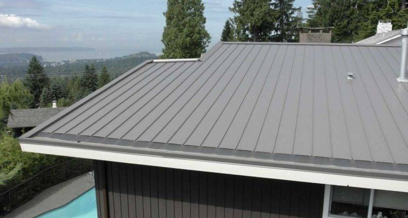 Low Pitch Metal Roofing
