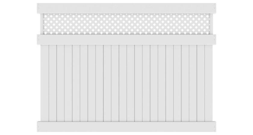 Lowes Privacy Vinyl Fence Fencing