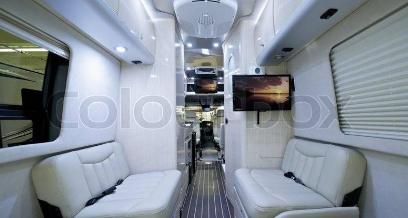 Luxury Class Motorhome Elegant Modern Light