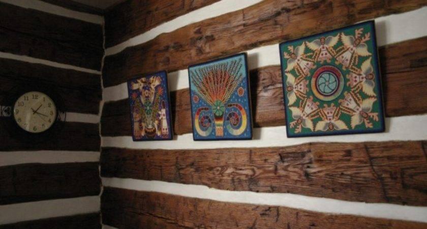 Luxury Faux Log Cabin Walls Blog