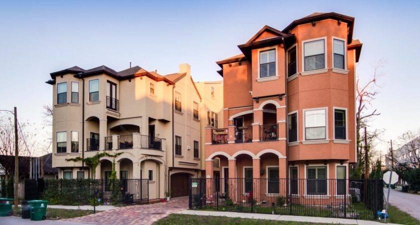 Luxury Townhomes Houston Hampton Court Titan Homes