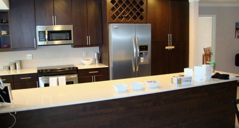 Luxury Trailer Kitchen Cabinets Design