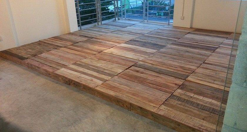 Magnificent Things Can Pallet Wood Floor