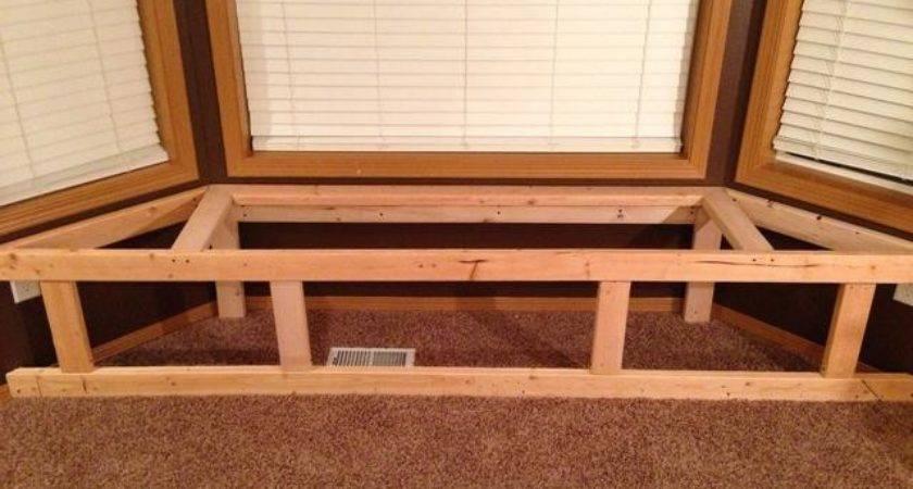 Make Bay Window Bench Seat Storage Snapguide