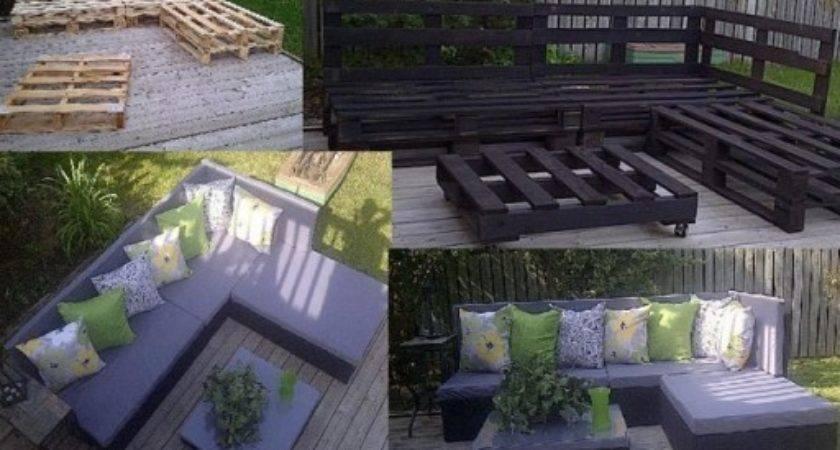 Make Cool Diy Pallet Furniture Instructions