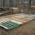 Make Deck Wood Pallets Ehow Home Design Idea