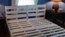 Make Diy Pallet Bed Frame Pallets Designs