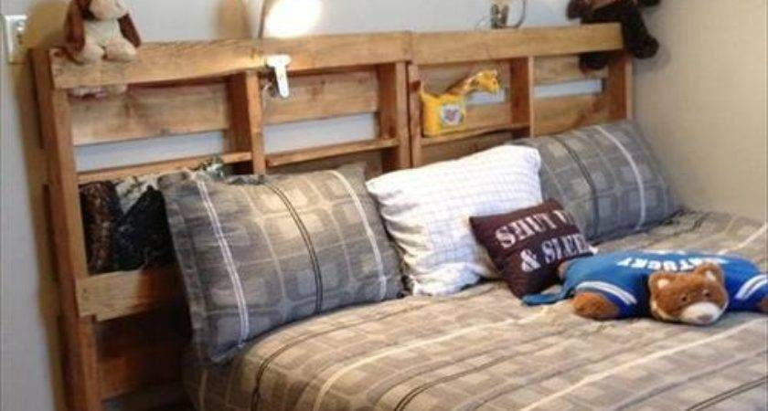 Make Diy Pallet Bed Frame Pallets Designs