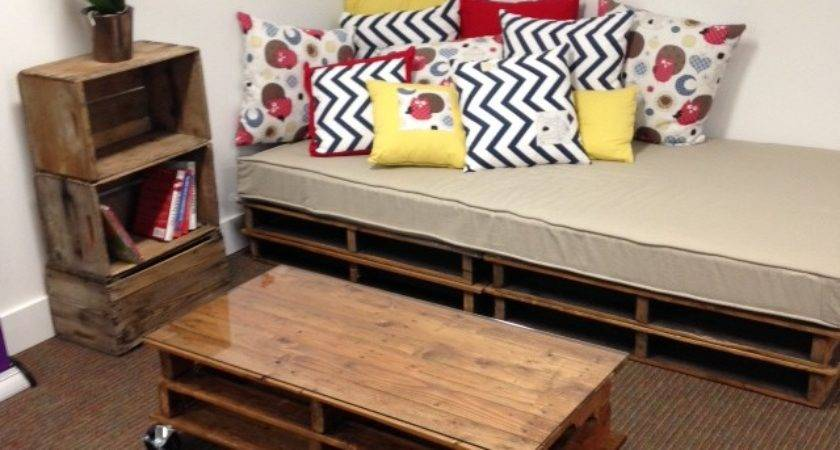 Make Diy Pallet Sofa Love Organics