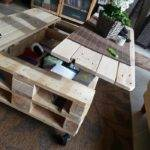 Make Lift Top Coffee Table Out Pallets Your