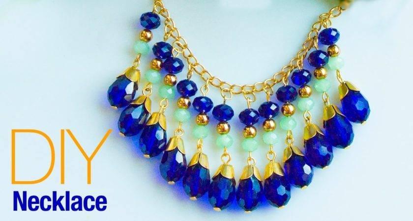 Make Necklace Home Diy Statement