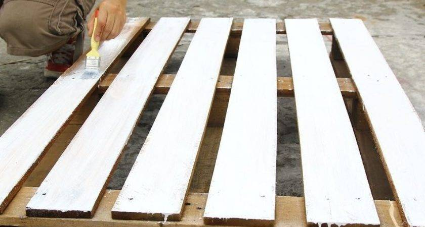 Make Pallet Bed Frame Steps