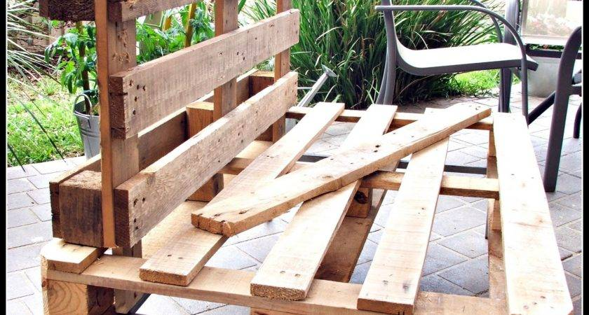 Make Pallet Patio Furniture Elegant Outdoor