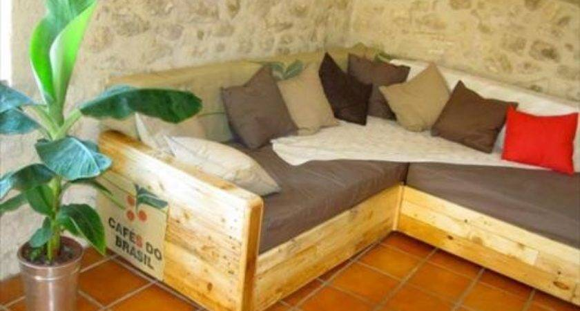 Make Pallet Sofa Cushions Pallets Designs
