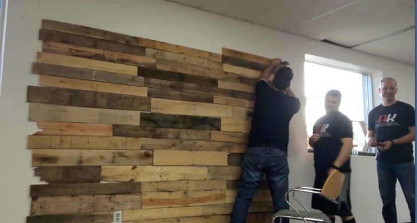 Make Pallet Wall Matter Give Back