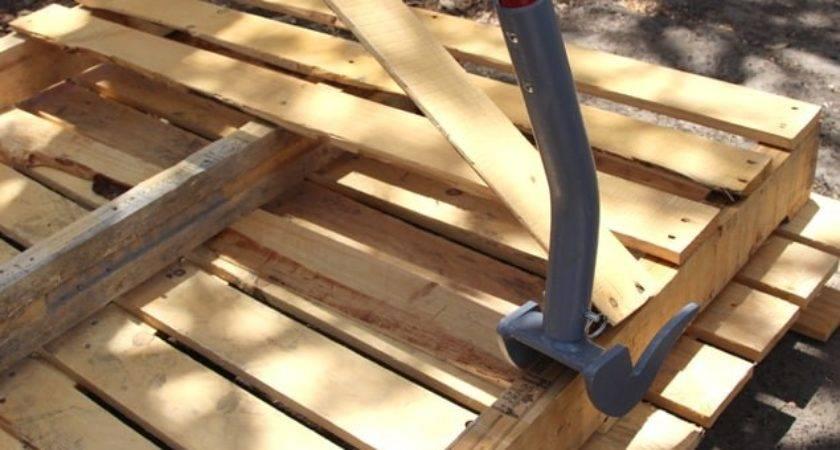Make Pallet Wood Crate Transfer