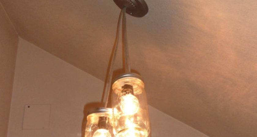 Make Pretty Mason Jar Pendant Light Crafts