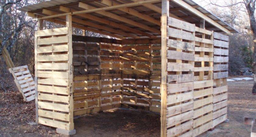 Make Shed Out Wooden Pallets Quick