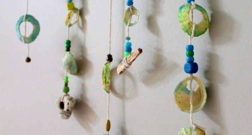Make Shell Mobile Seaside Craft Nurturestore
