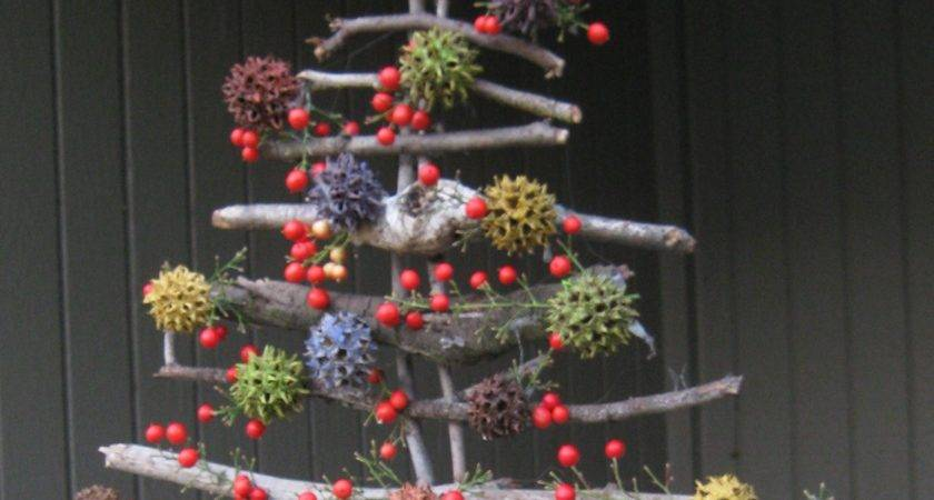 Make Twig Christmas Tree Fruitful Words