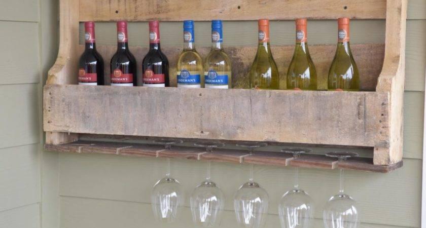 Make Wine Rack Wood Pallet Hgtv