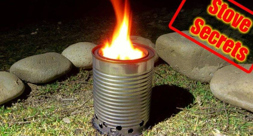 Make Wood Gas Stove Compact Efficient Youtube