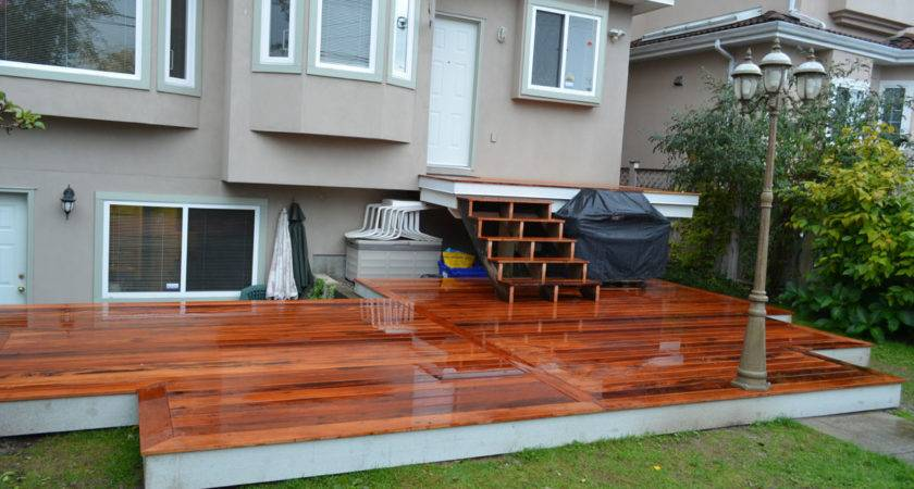 Make Your Deck Building Project Stand Out Vancouver