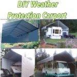 Make Your Own Portable Carport Shelter Long Lasting