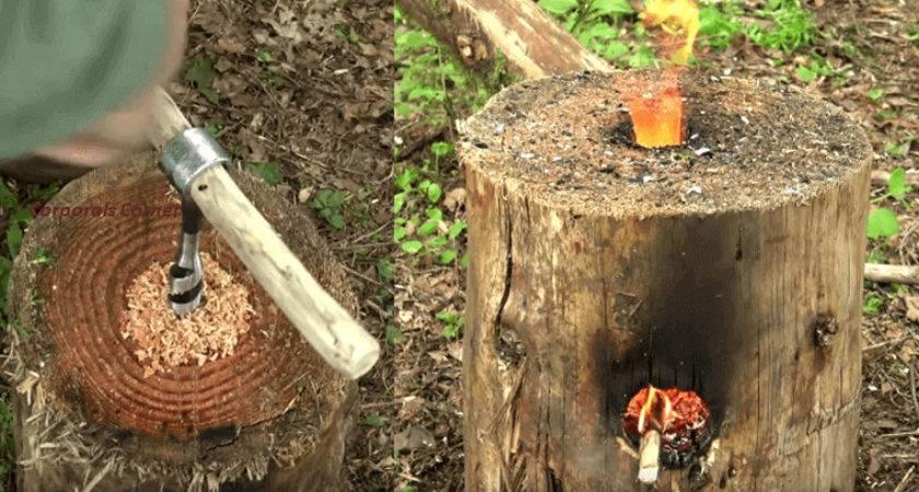 Make Your Own Wooden Rocket Stove Brilliant Diy