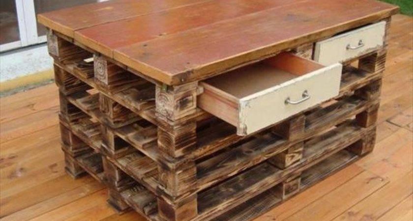 Making Useful Furniture Using Pallet Woods Pallets