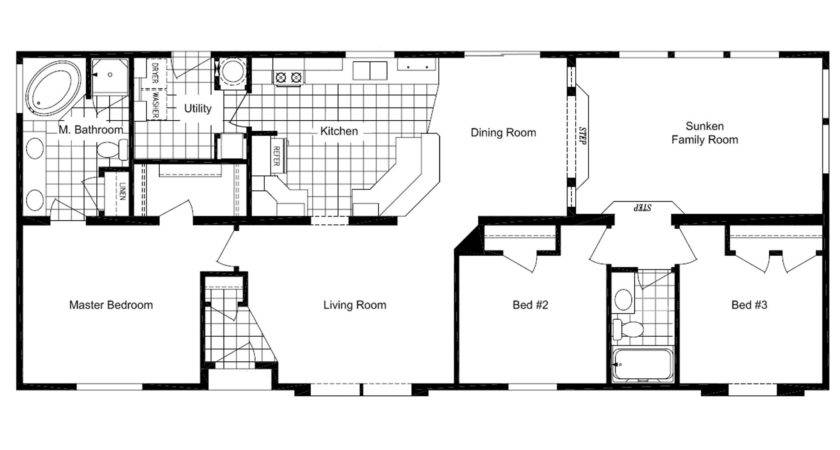 Manufactured Home Floor Plan Marlette Mountain