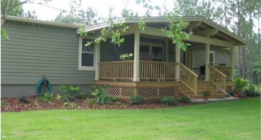 Manufactured Home Front Porch Designs Out Think Ideas