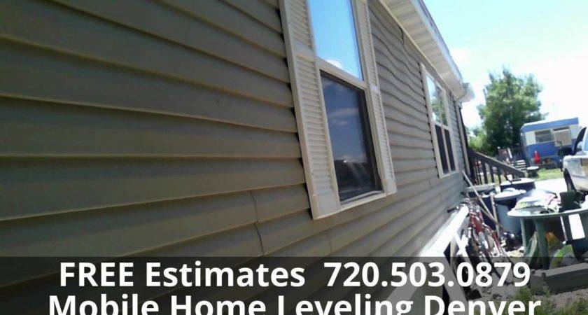 Manufactured Home Leveling House Foundation